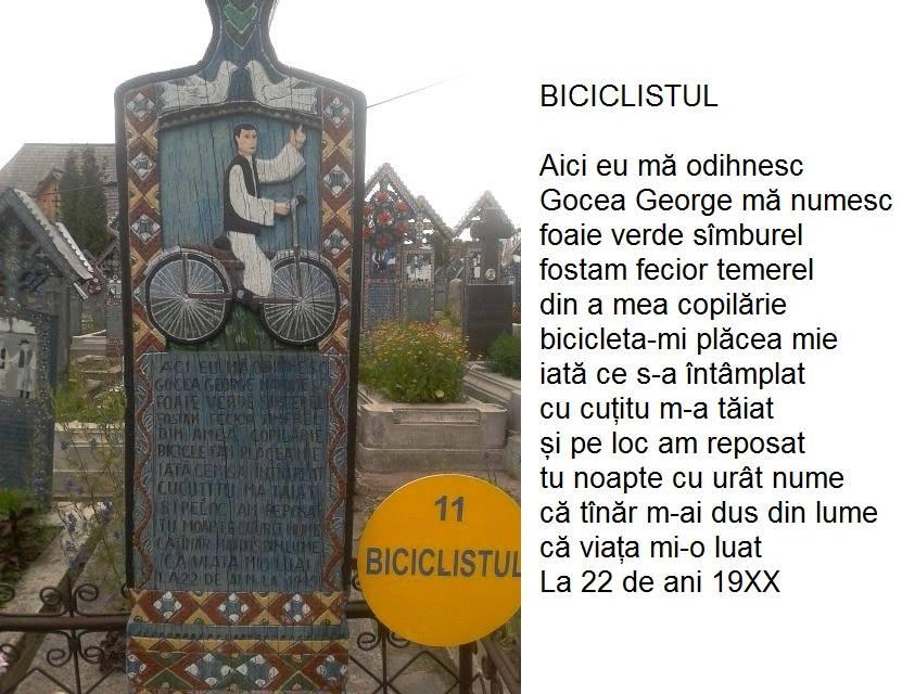 biciclistul-cimititul vesel